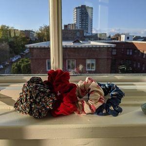 American apparel scrunchies